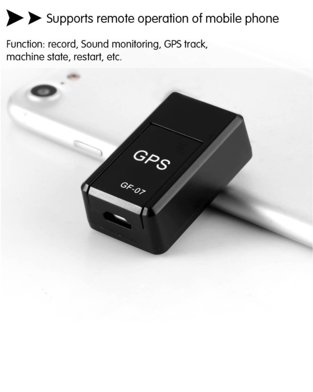 Muzamil Store GSM GPS Tracker (GF-07)