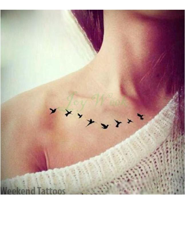 81d14b09f Fly bird Waterproof Tattoo Sticker Price in Pakistan   Buy Muzamil ...