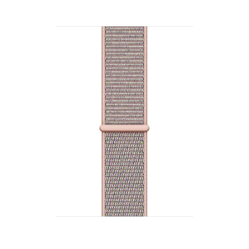 c18c5fc3482 by Al-Oasis Traders. Apple iWatch Series 4 40mm Gold Aluminum Case With Pink  Sand Sport Loop - GPS (