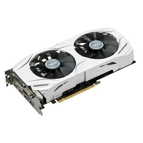 Asus DUAL Series Radeon RX 480 4GB Gaming Graphics Card (DUAL-RX480-O4G)