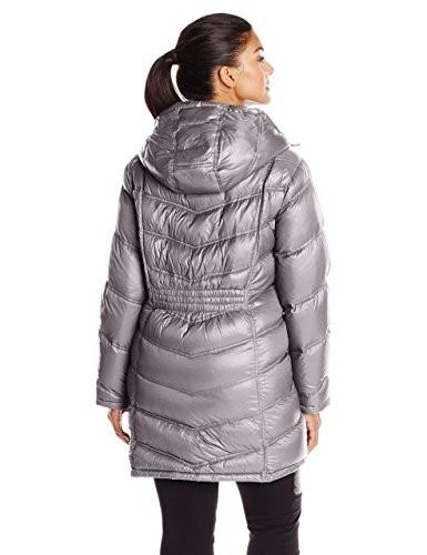 51d67f9b0 Calvin Klein Plus-Size Packable Down Women's Coat Granite (CL412047)