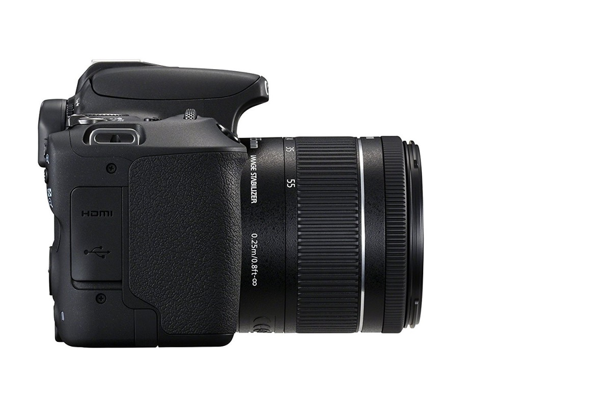 Canon EOS 200D DSLR Camera with EF-S 18-55mm III Lens