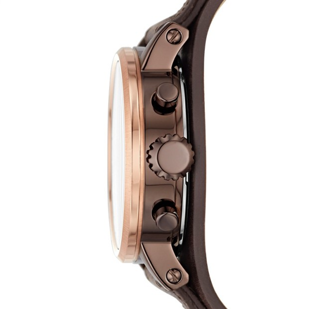 06a3e6ef7 by Al-Oasis Traders. Fossil Original Boyfriend Chronograph Women's Watch  Brown Leather (ES4286P)