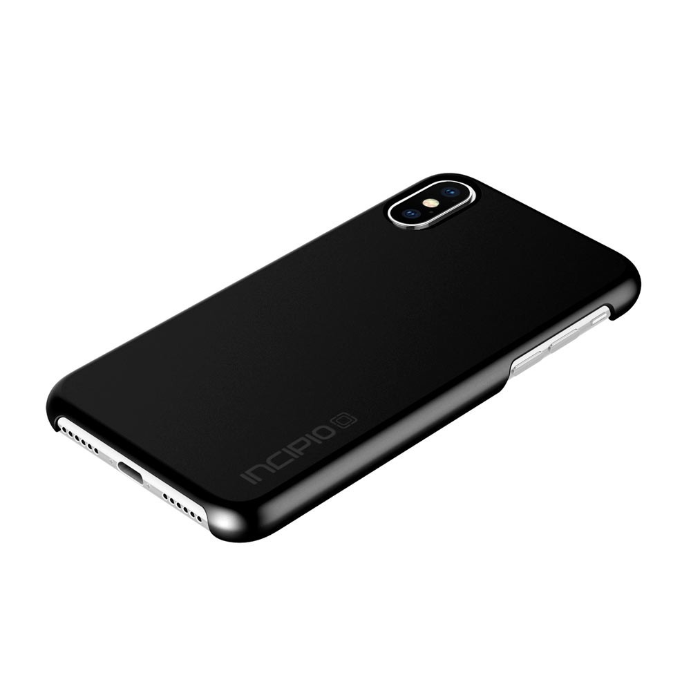 best authentic 9c055 3a1d3 Incipio Feather Glossy Black Case For iPhone X/XS