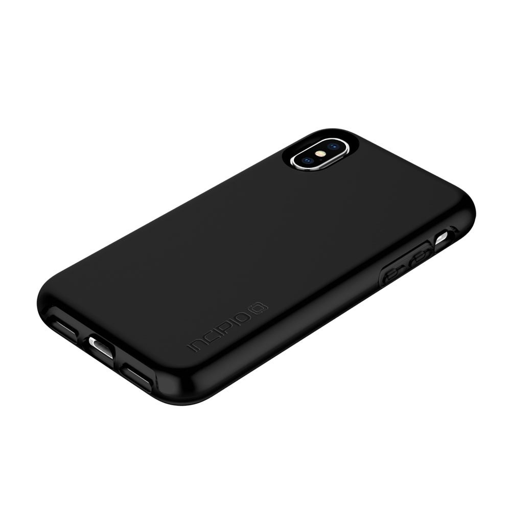 online retailer 25fb0 7a691 Incipio Haven Lux Black Case For iPhone X/XS