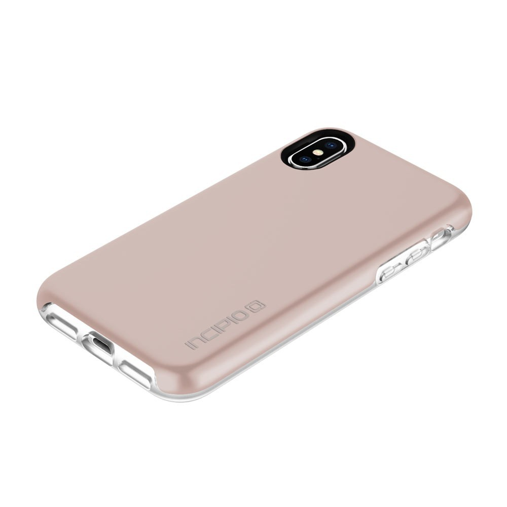 half off a2c54 34960 Incipio Haven Lux Rose Gold Case For iPhone X/XS