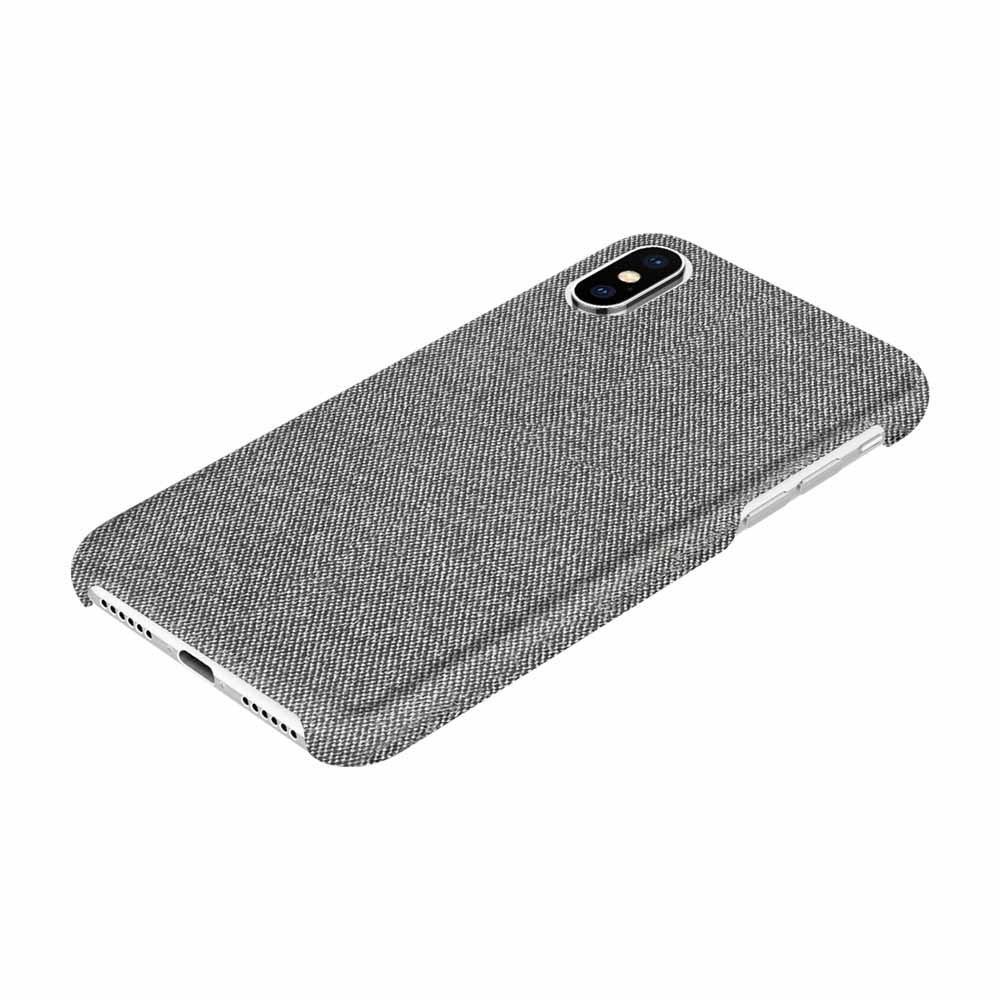 reputable site 9ab0c 3fb6e Incipio Slim Gray Fabric Case For iPhone X/XS