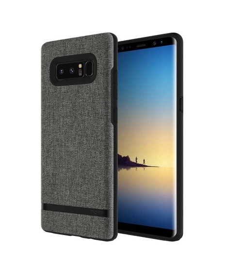 new product 38bc6 1dd29 Incipio Carnaby Esquire Gray Case For Galaxy Note 8
