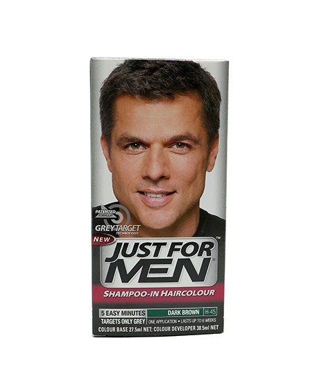 Just For Men Shampoo In Haircolour H 45 Price In Pakistan Buy Just For Men Shampoo In Haircolour Dark Brown H 45 Ishopping Pk