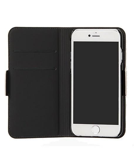 big sale 8d83b 31605 Kate Spade Minnie Mouse Applique Folio Pink Multi Case For iPhone 8