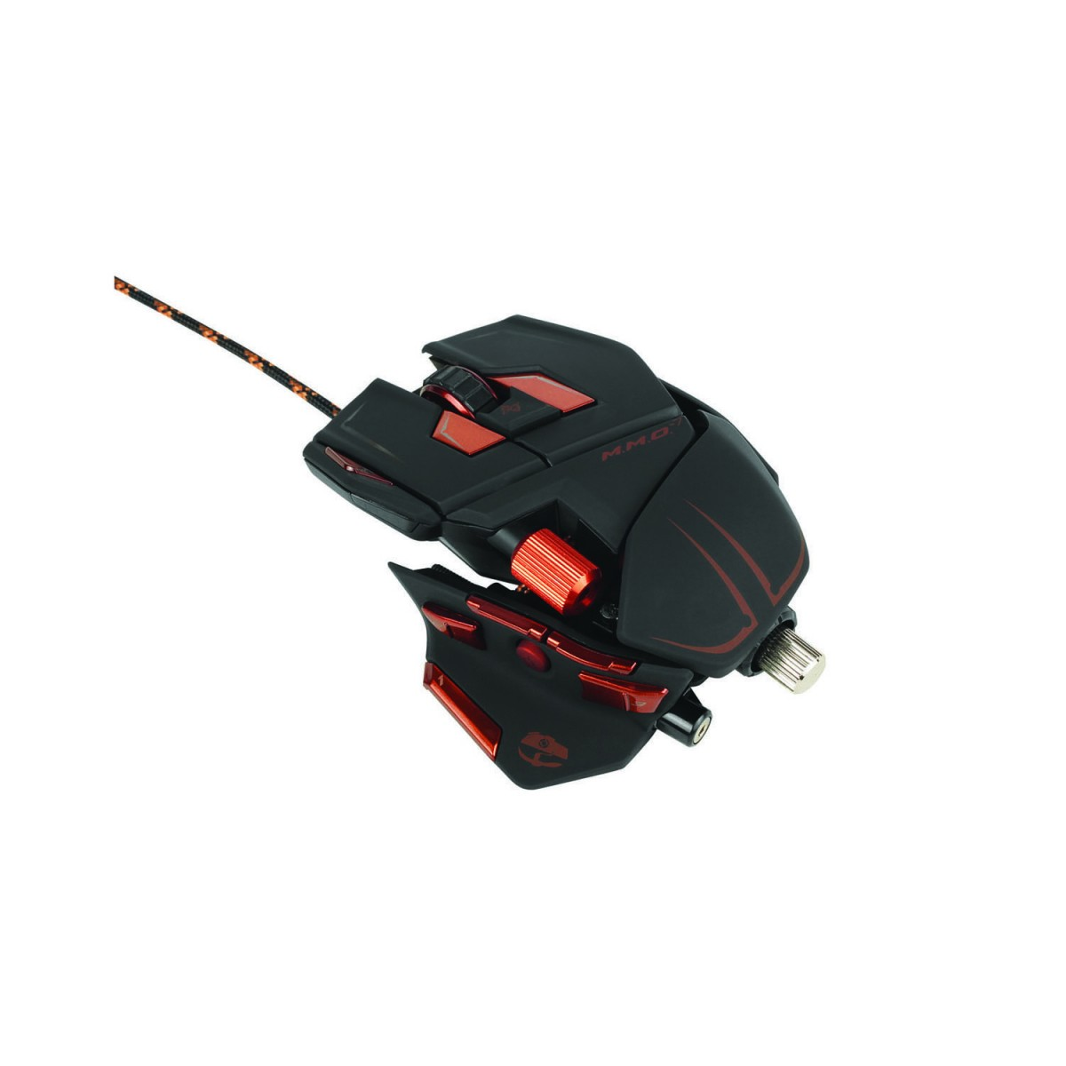 Mad Catz M M O  7 Black Gaming Mouse for PC and Mac