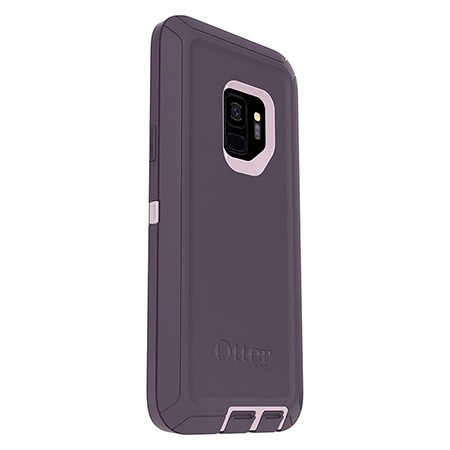 the best attitude 1c97b d2d16 OtterBox Defender Series Screenless Purple Nebula Case For Galaxy S9