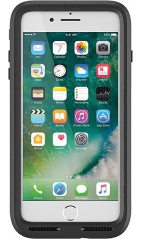 finest selection de9bf 3f417 OtterBox Pursuit Series Black Case For iPhone 8 Plus