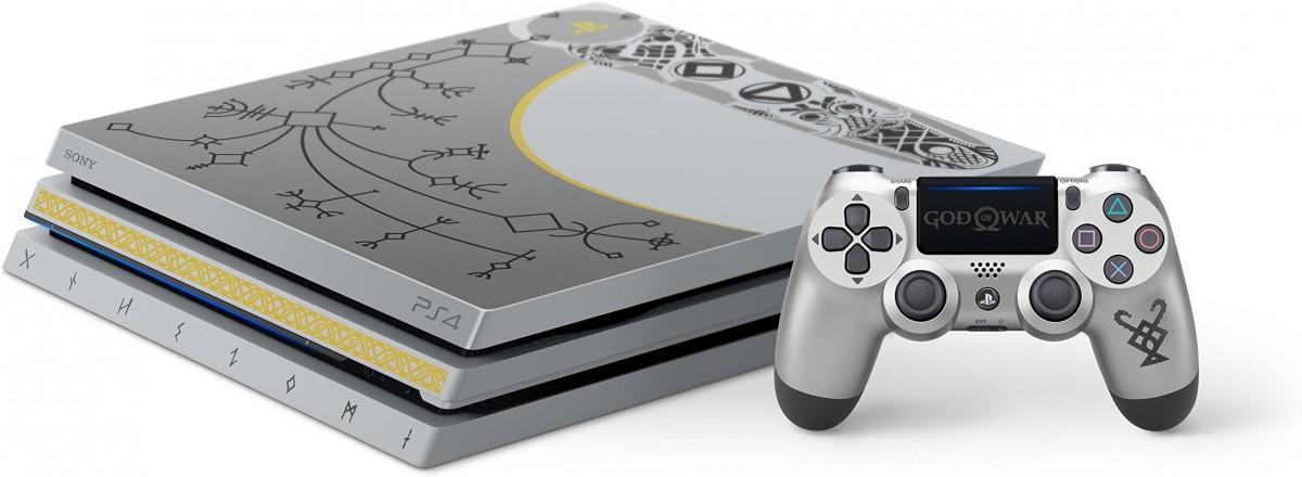Sony Playstation 4 Pro 1tb Limited Edition Console God Of War Bundle