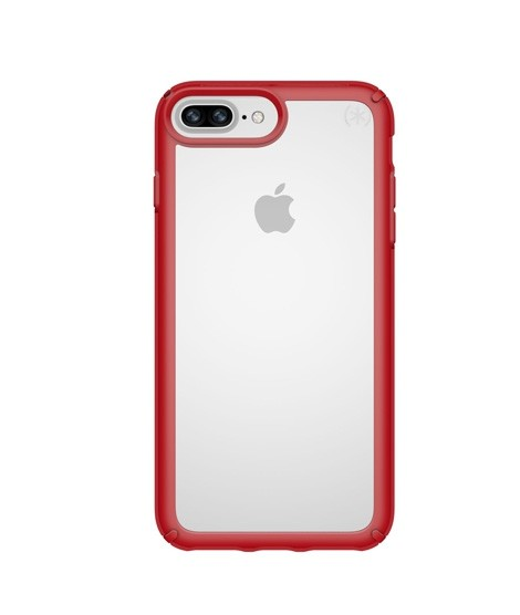 finest selection 07239 6cdb3 Speck Presidio Show Clear/Heartthrob Red Case For iPhone 8 Plus