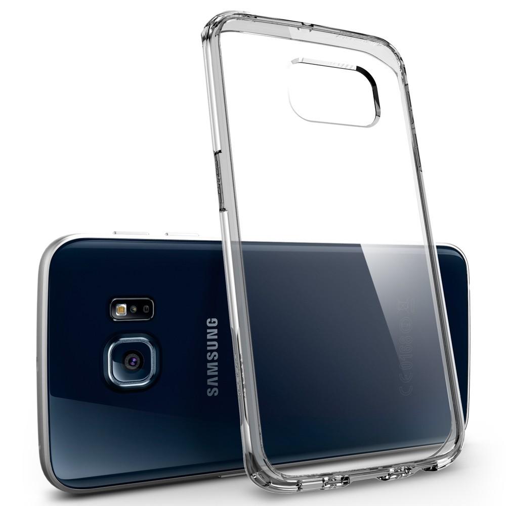 wholesale dealer 4f03e fe489 Spigen Galaxy S6 Edge Case Ultra Hybrid (Space Crystal)