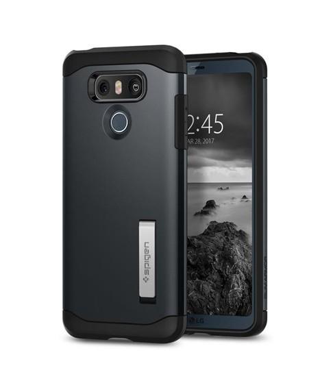 100% authentic ef31e 902af Spigen Slim Armor Metal Slate Case For LG G6