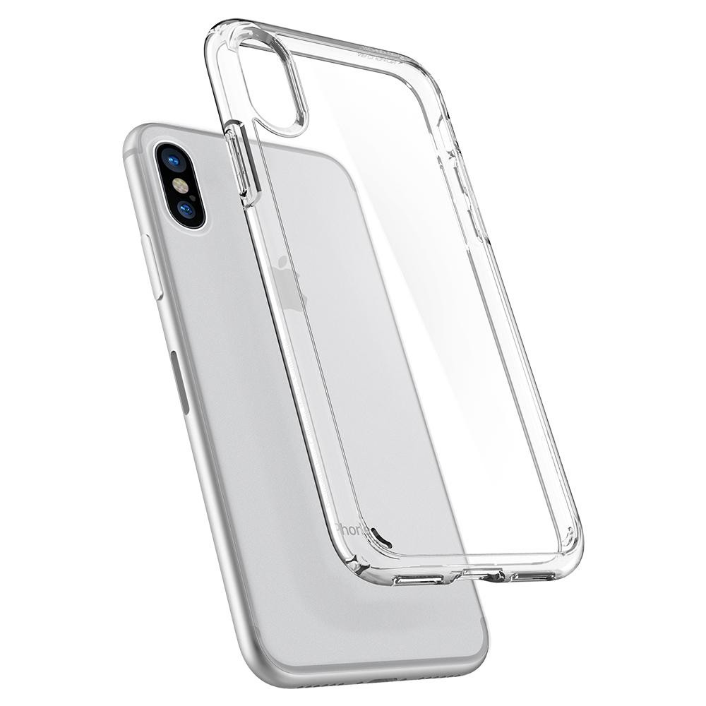 new concept 20113 3319e Spigen Ultra Hybrid Crystal Clear Case For iPhone X/XS