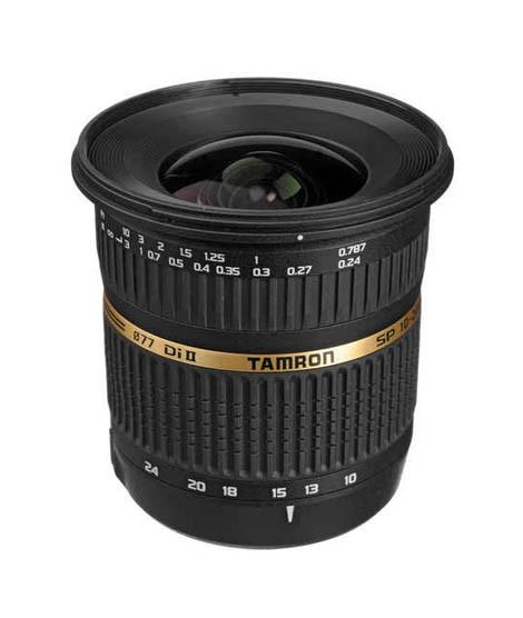 Tamron SP AF 10-24mm f / 3 5-4 5 DI II Lens For Canon DSLR Cameras