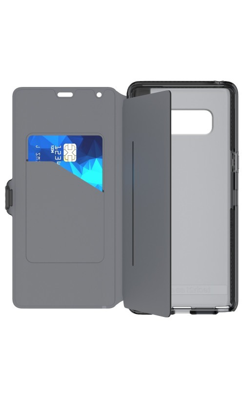 new style a17f1 80d59 Tech21 Evo Wallet Case For Galaxy Note 8