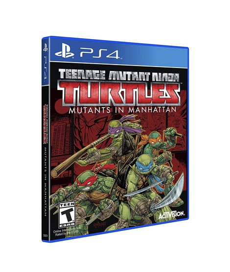 Teenage Mutant Ninja Turtles Game For Ps4 Price In Pakistan Buy Teenage Mutant Ninja Turtles Mutants In Manhattan Game Ishopping Pk