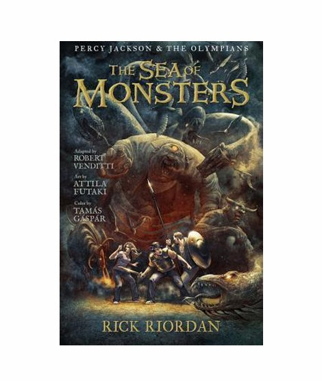 Sea Of Monsters Book