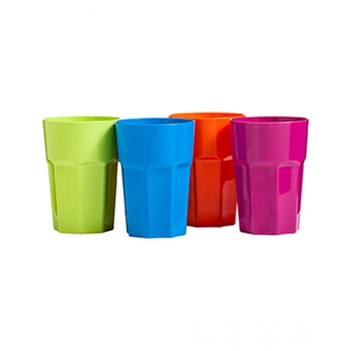 Premier Home Assorted Plastic Tumblers Set of 4 440ml (1206302)