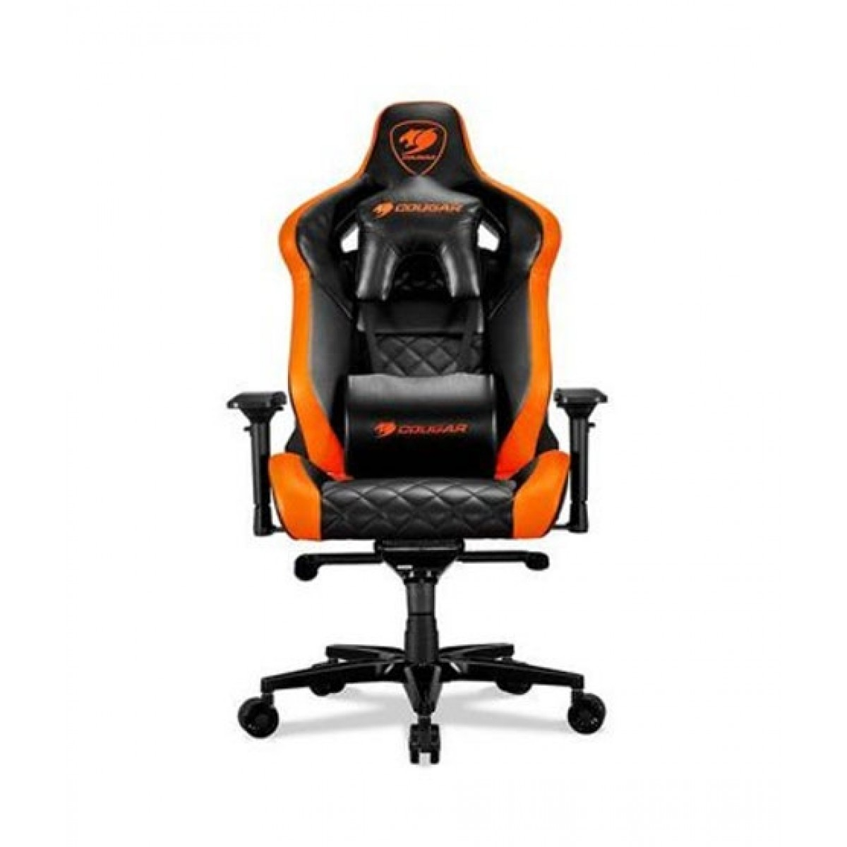 Cougar Armor Titan Gaming Chair Orange/Black
