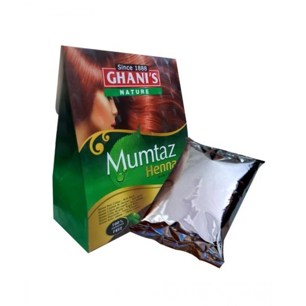 World Of Promotions Ghani's Nature Mumtaz Henna Hair Color - 100gm