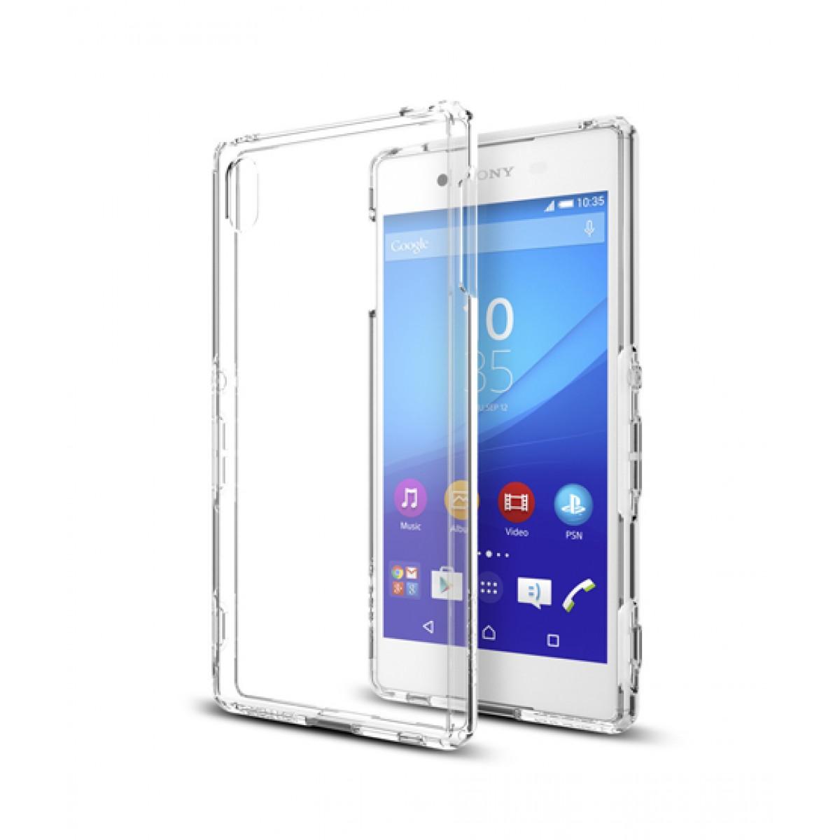 half off ff88d fa4d7 Spigen Xperia Z3 + Case Ultra Hybrid - Crystal Clear