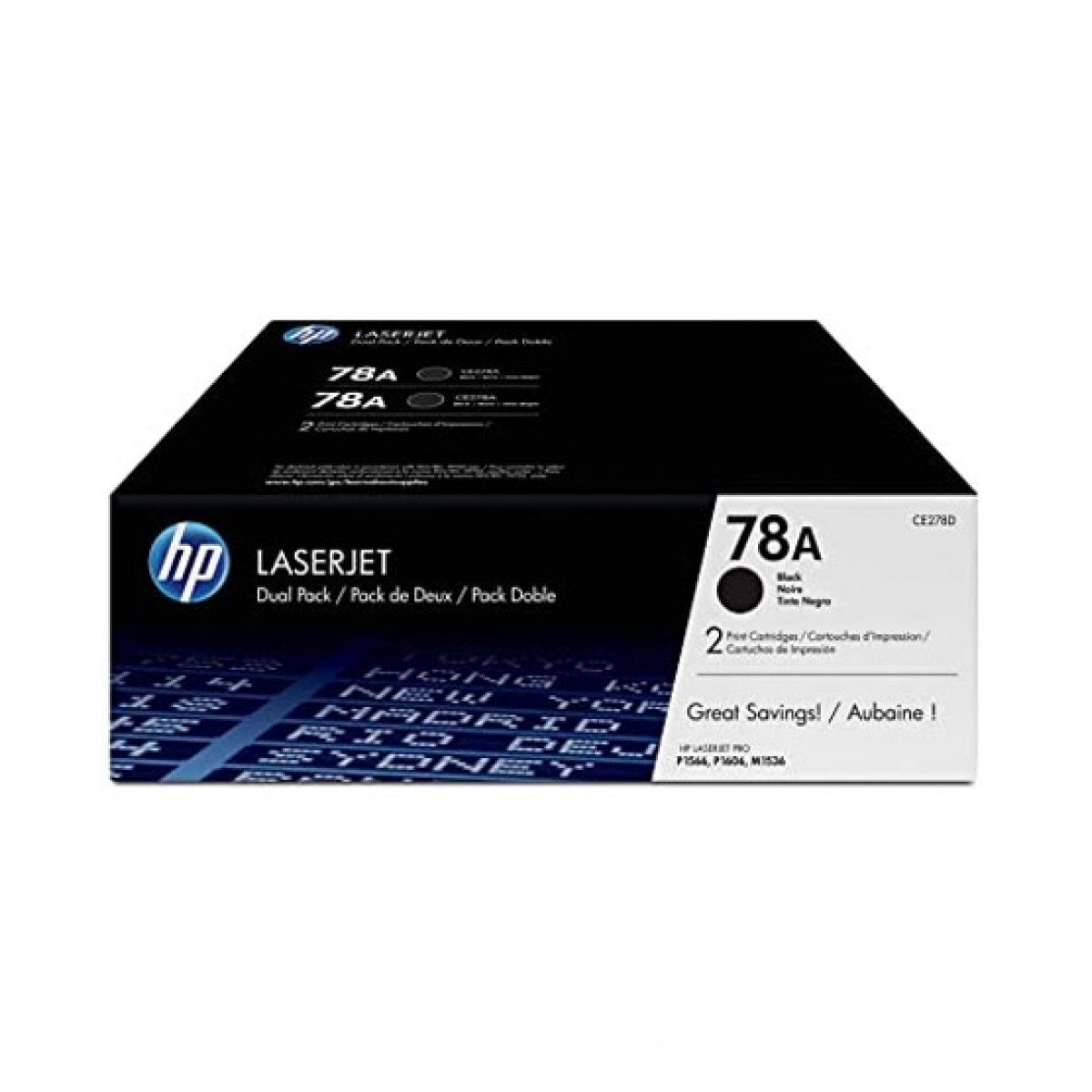 HP 78A LaserJet Toner Cartridge Black (CE278AD)
