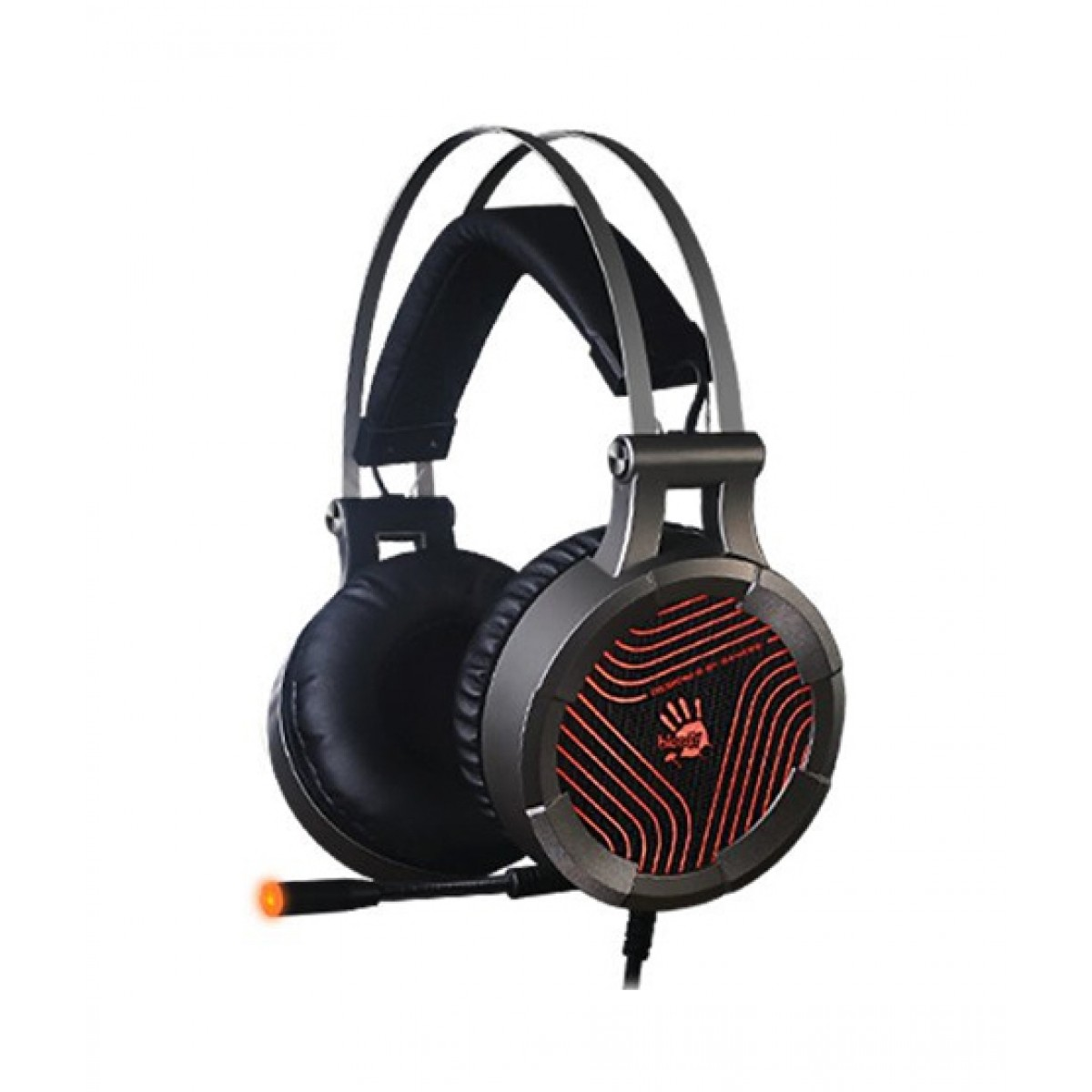 Image result for A4Tech Bloody G530 On-Ear Gaming Headphone Grey