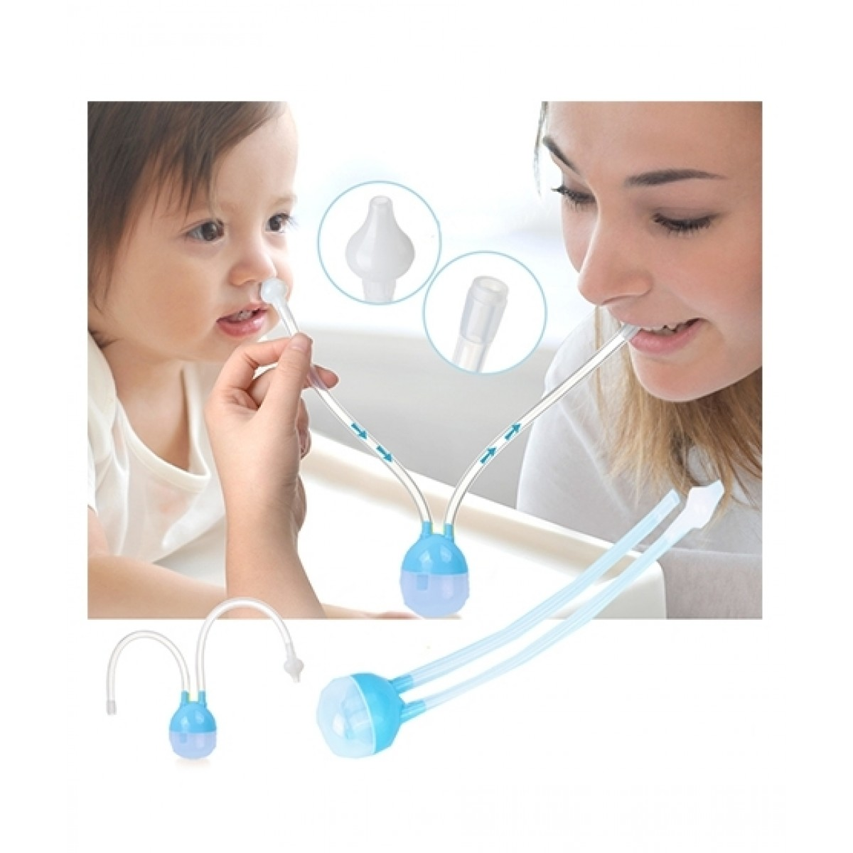 A To Z Trading Baby Nasal Aspirator Nose Cleaner