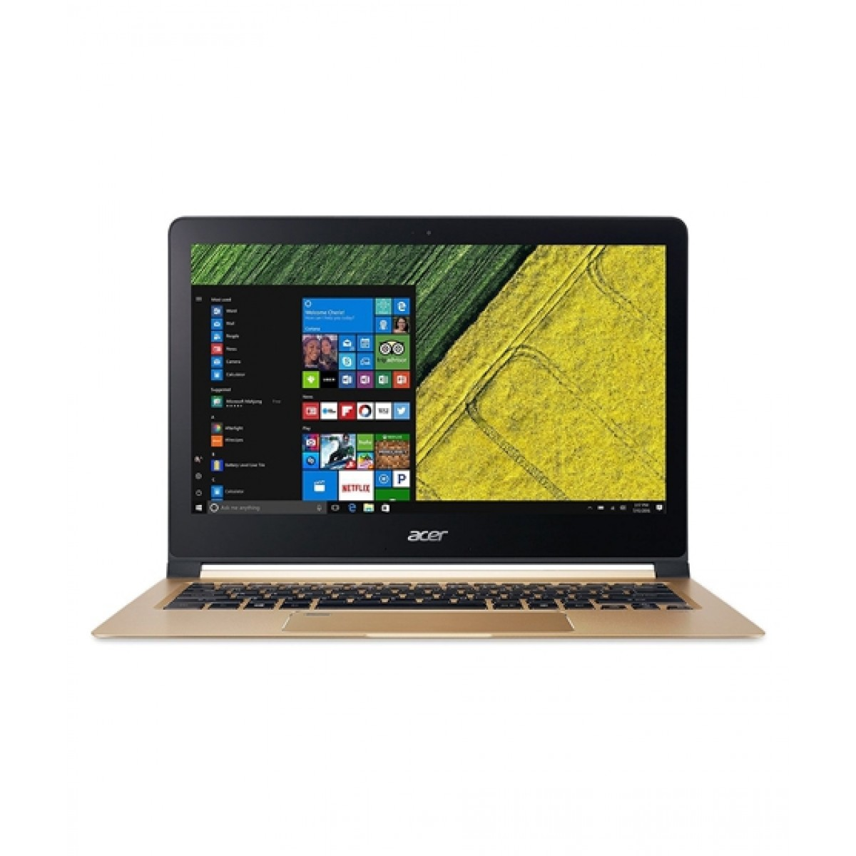 "Acer Swift 7 13.3"" Core i7 7th Gen 512GB 8GB Laptop Luxury Gold (SF713-51-M51W)"