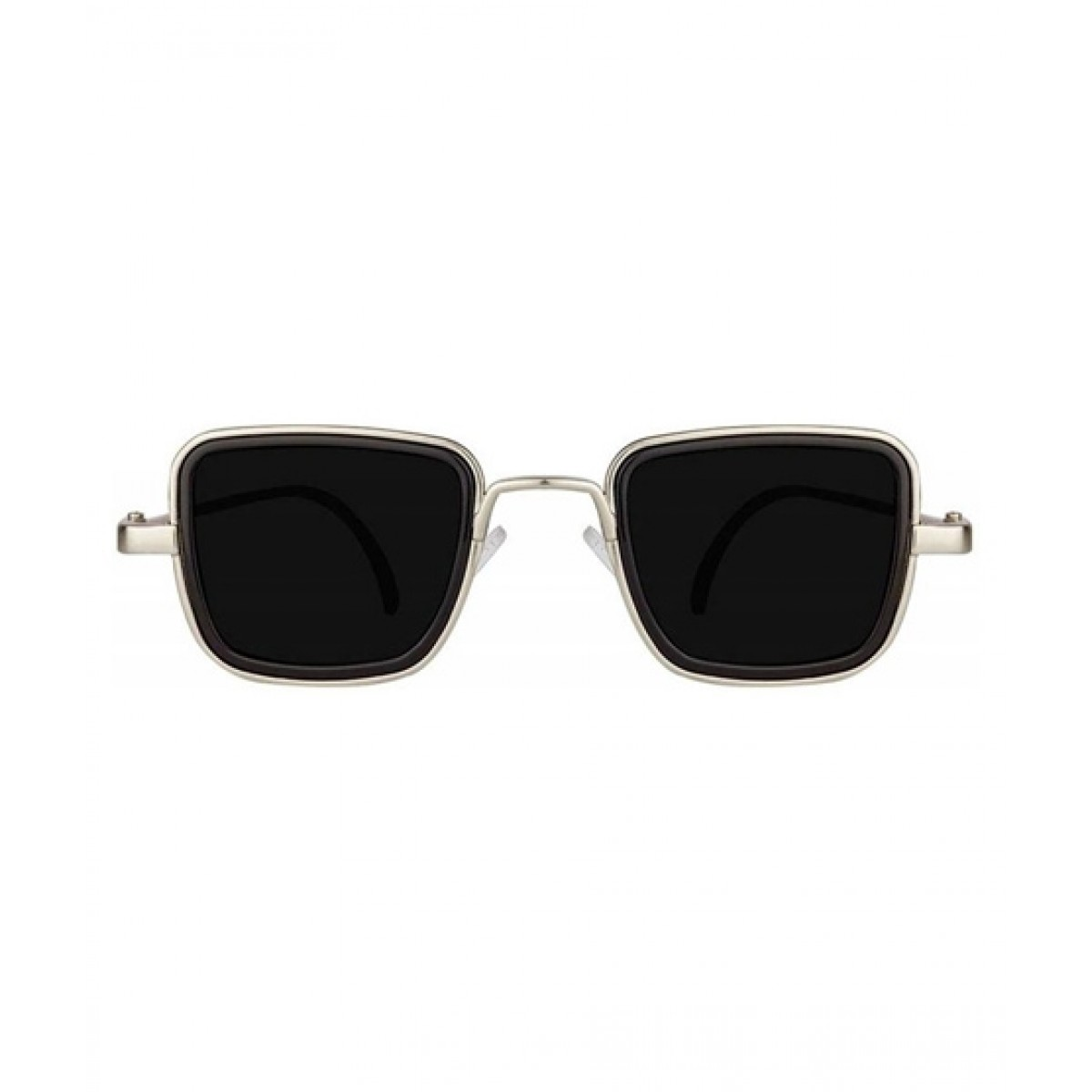 Afreeto Men Square Retro Cool Sunglasses Black