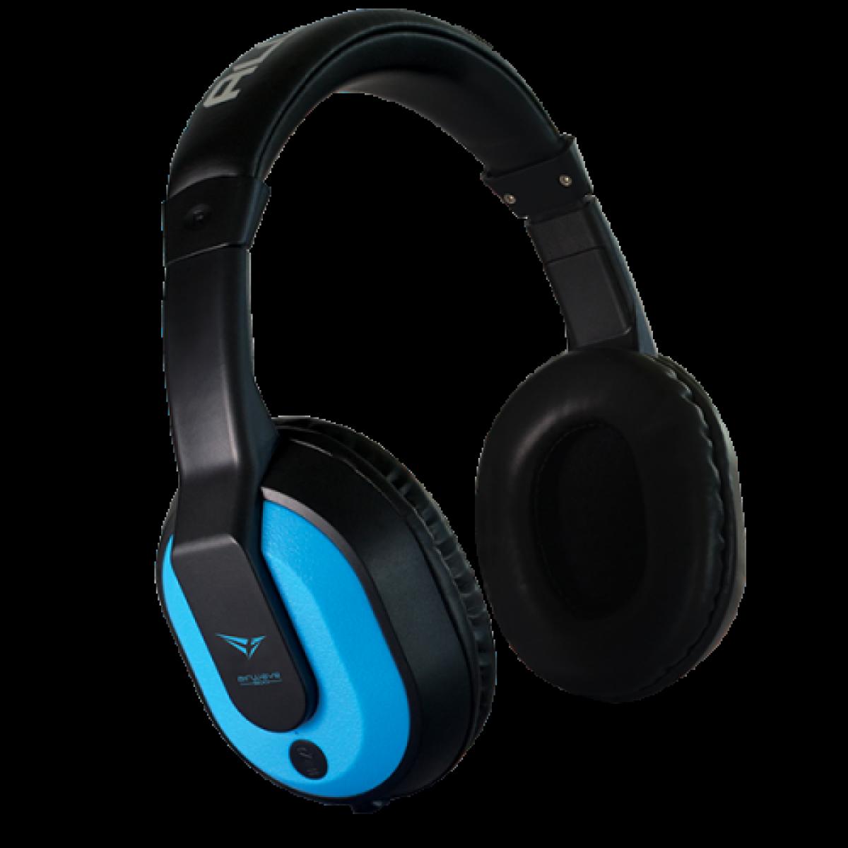 Alcatroz Airwave 300 Wireless Bluetooth Over-Ear Headphone Turquoise