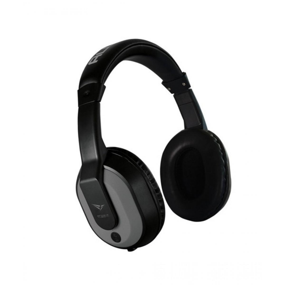 Alcatroz Airwave 300 Wireless Bluetooth Over-Ear Headphone Grey