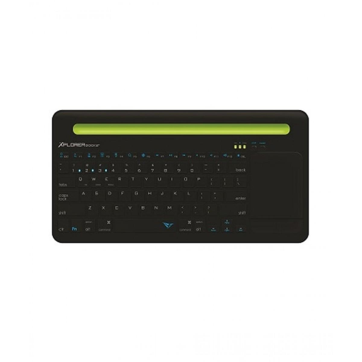 Alcatroz Xplorer Dock 2 Bluetooth Keyboard Black/Green