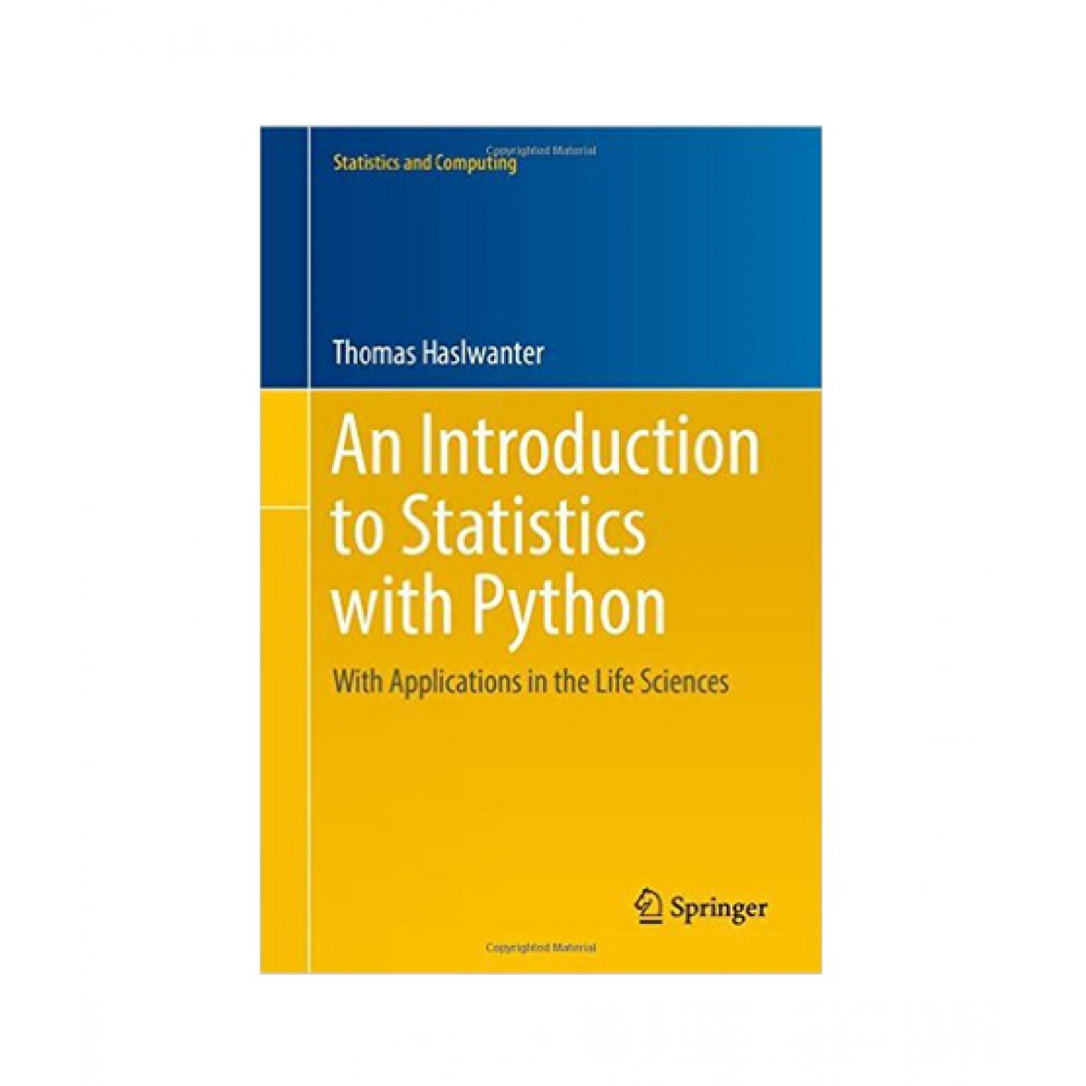 An Introduction to Statistics with Python Book