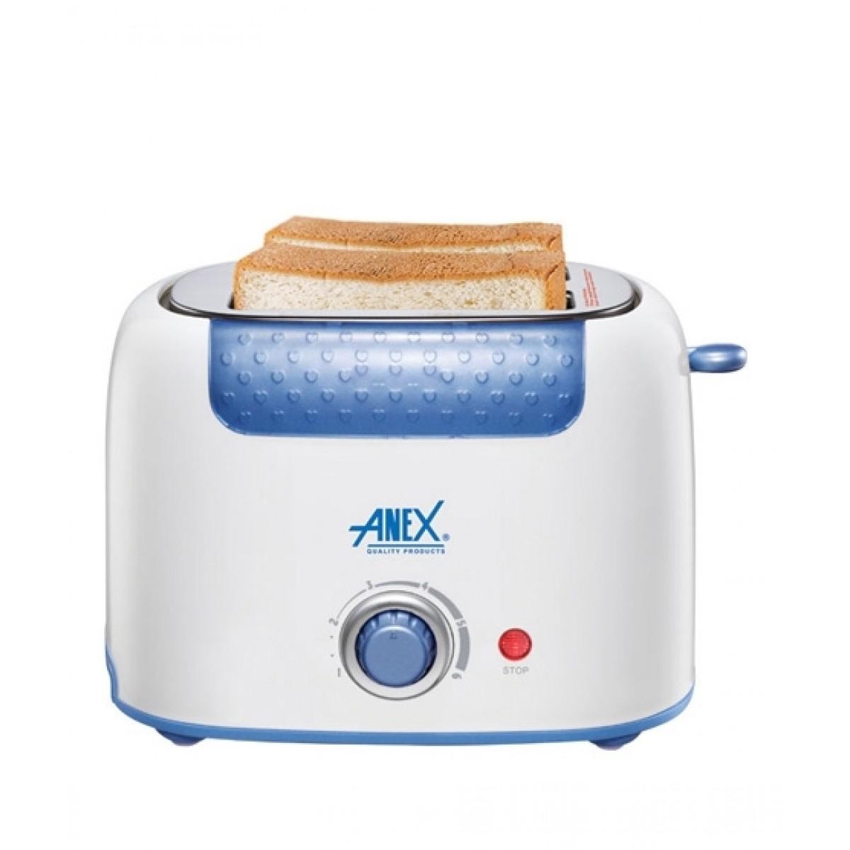 Anex 2 Slice Toaster (AG-3001)