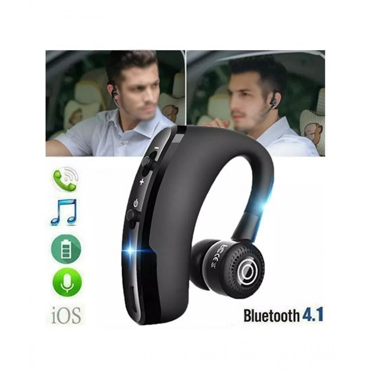 V9 Wireless Bluetooth Headset Black Price In Pakistan Buy Apkastore V9 Wireless Bluetooth Headset Ishopping Pk