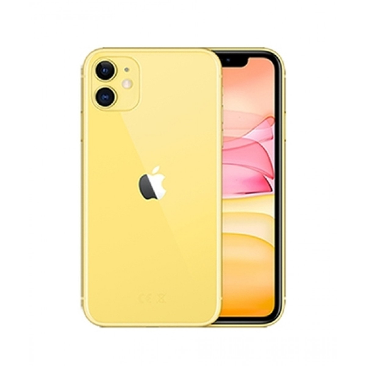 Apple iPhone 11 128GB Dual Sim Yellow - Non PTA Compliant