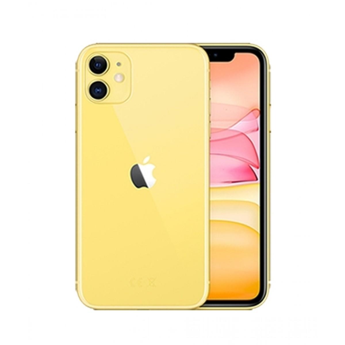 Apple iPhone 11 256GB Dual Sim Yellow - Non PTA Compliant