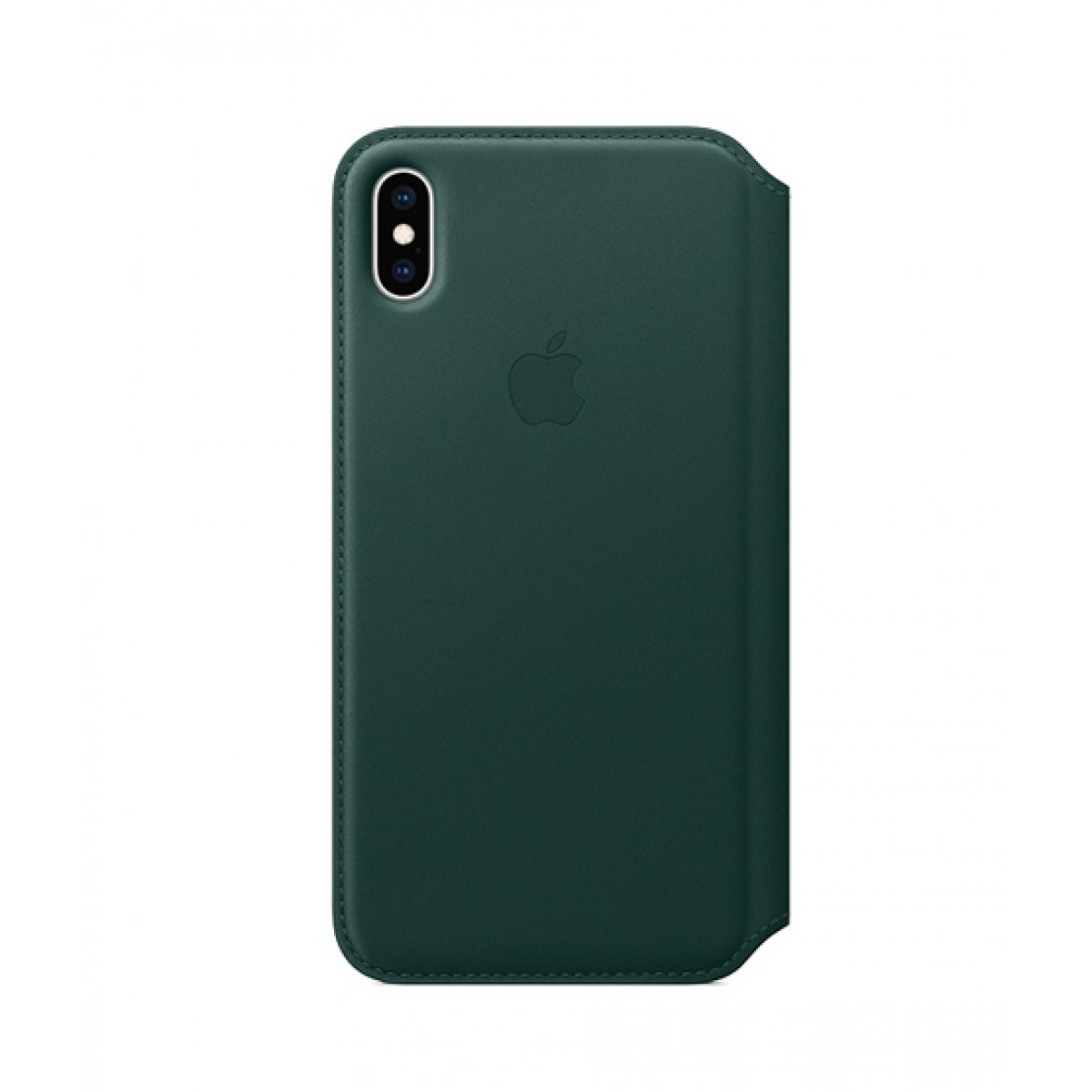 best website e6c8d 89ed9 Apple Leather Folio Forest Green Case For iPhone XS Max