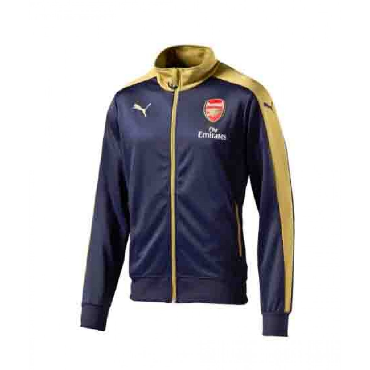 Arsenal Puma Stadium Jackets (Navy)
