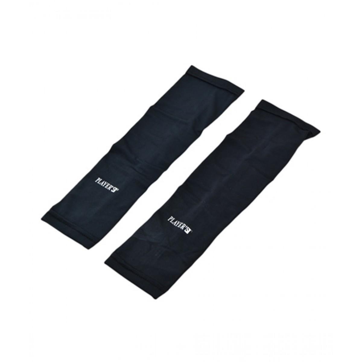 Asaan Buy Sports Arm Sleeves Pack Of 2 Black (SY-1649)