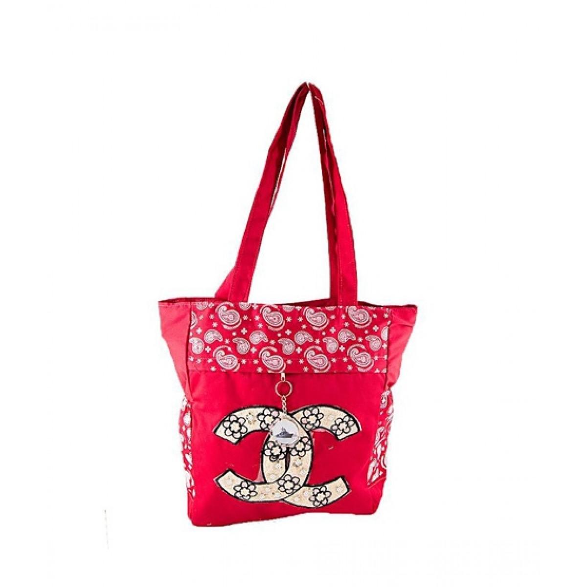 Asaan Buy Leather School Handbag Red