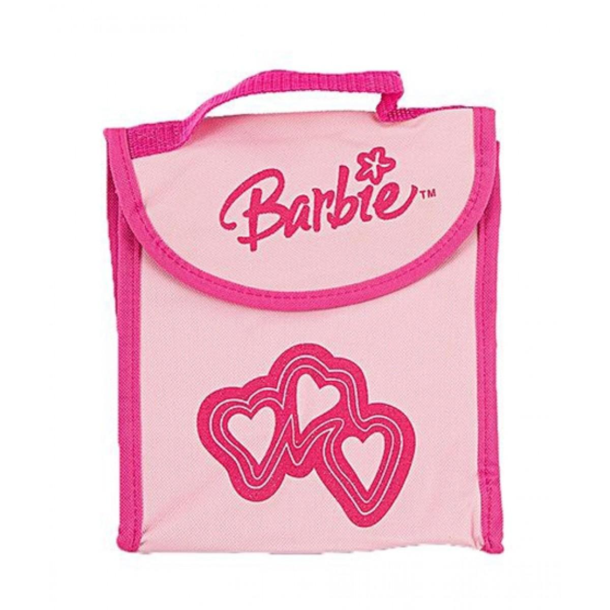 Asaan Buy Single And Double Handle Barbie School Bag - Pink (TO-0022)