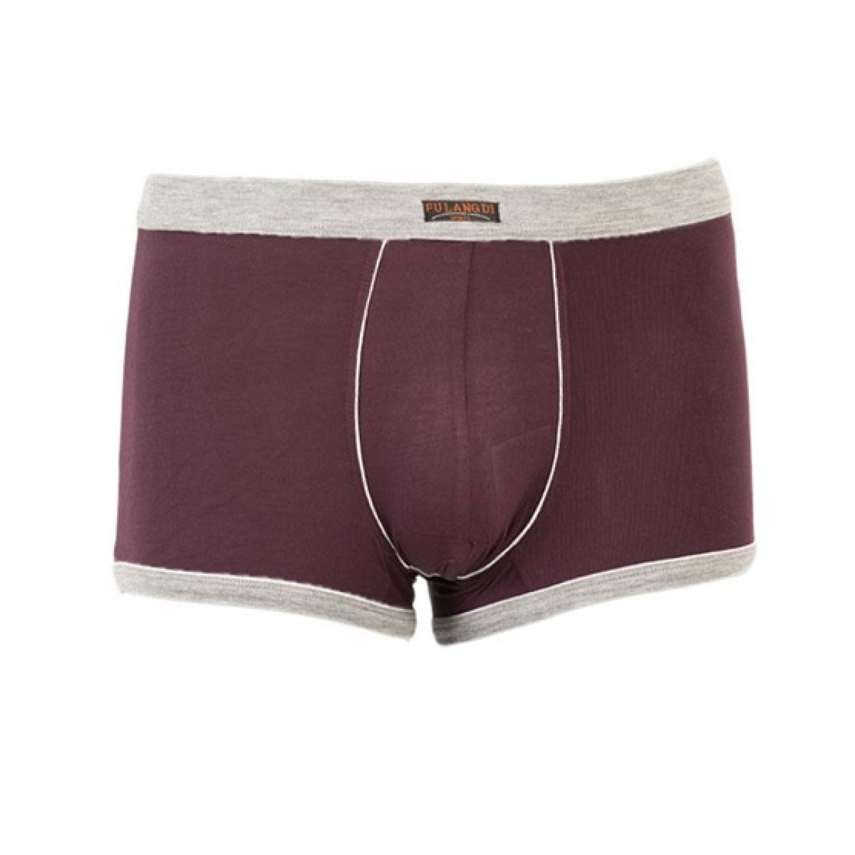 Asaan Buy Super Cotton Stretchable Sports Boxer For Men Maroon - Pack Of 3