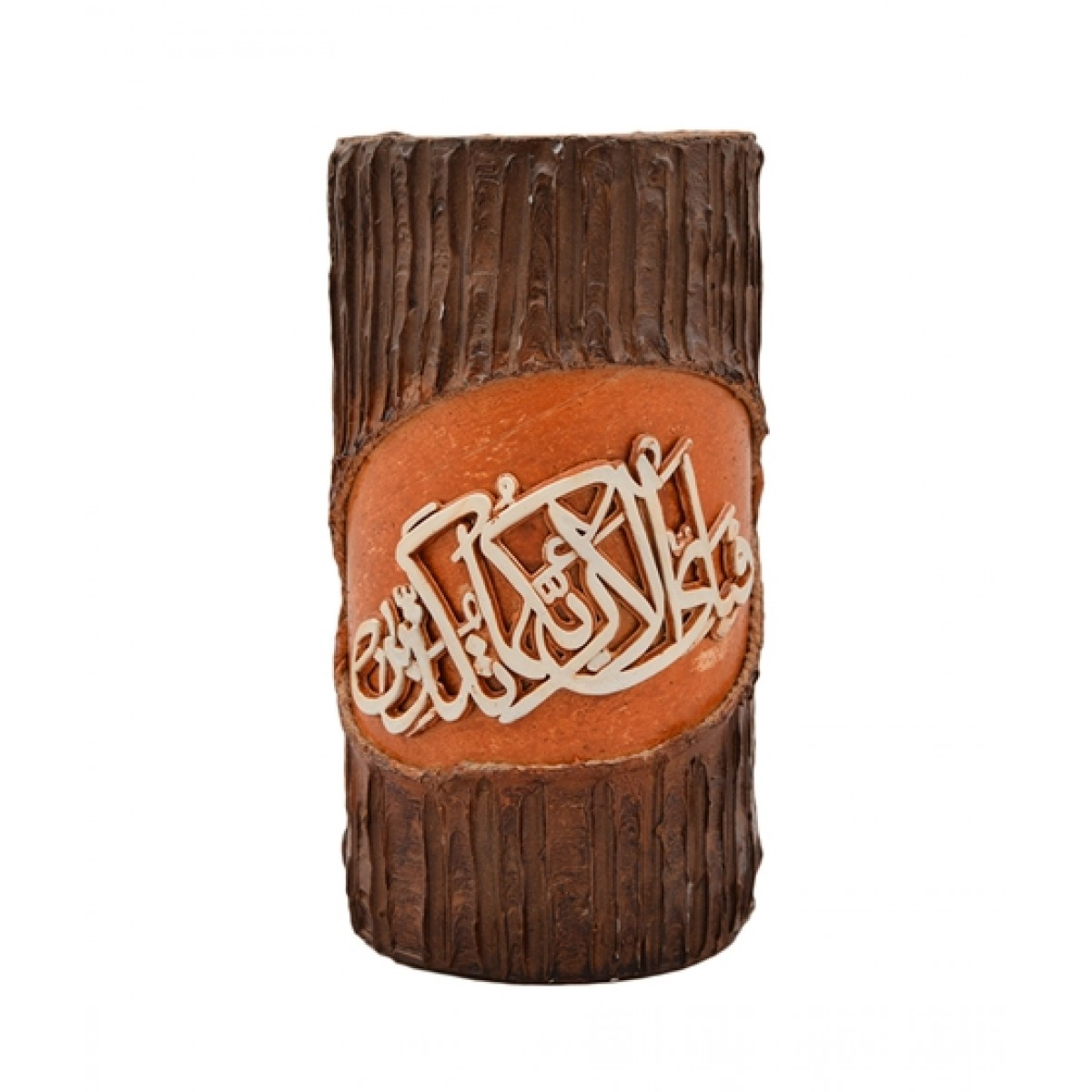 Asaan Buy Wooden Calligraphic Candle (F-221)